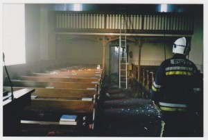 Carrigaline Church, fire, Sunday, 23rd March, 2003 004