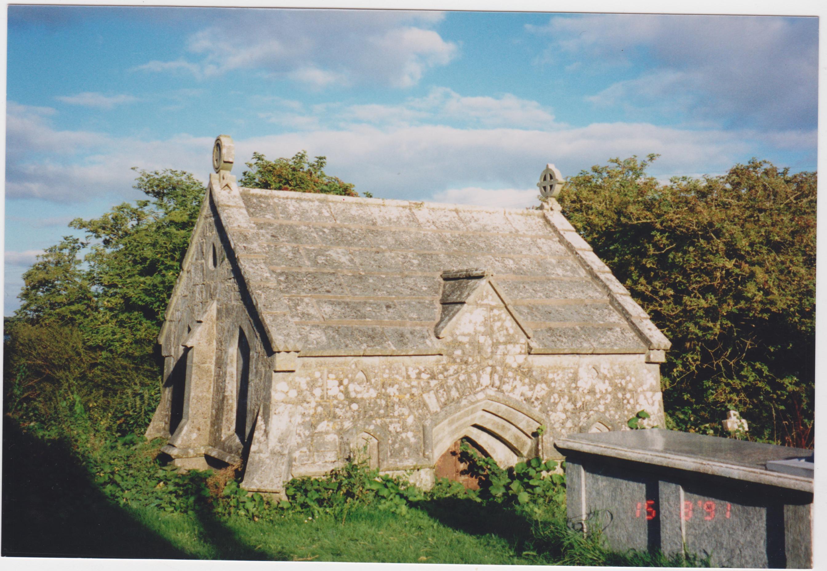 Morgan tomb, Carrigaline Churchyard, 15th August, 1991