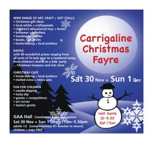 Christmas Fayre 2013 - flyer