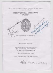 Bishop of Meath and Klidare, 30th November, 2013