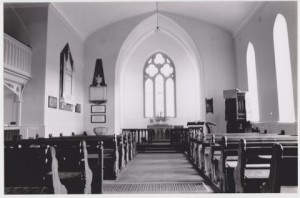 Carrigaline Church, by E.H.R., pre 1960. 001